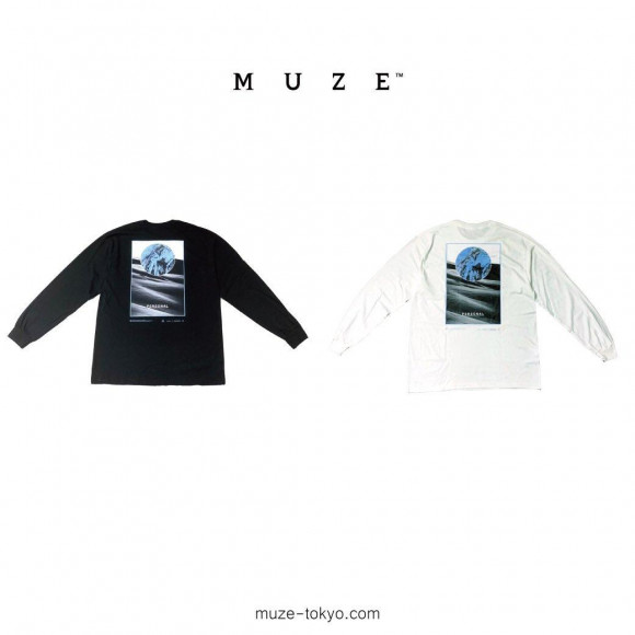【NEW ARRIVAL】MUZE BLACK LABEL - PERSONAL L/S TEE