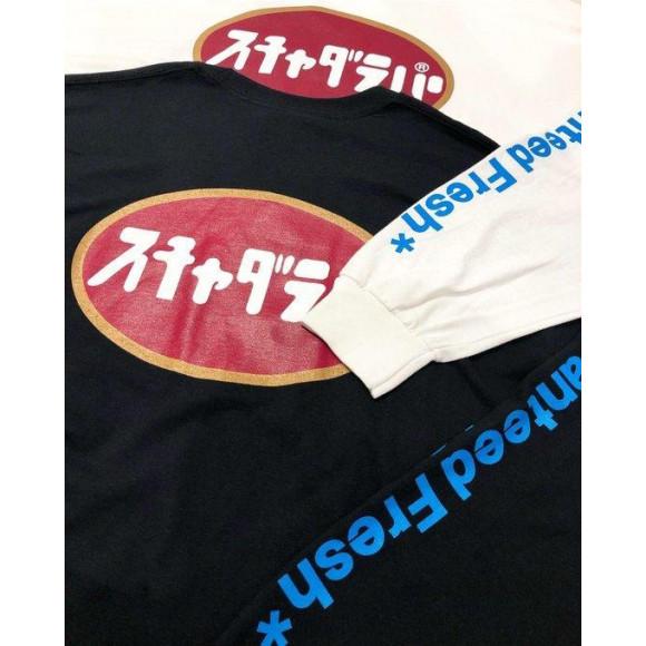 【NEW ARRIVAL】RAP TEES - SCAHDARAPARR Circle LOGO L/S TEE