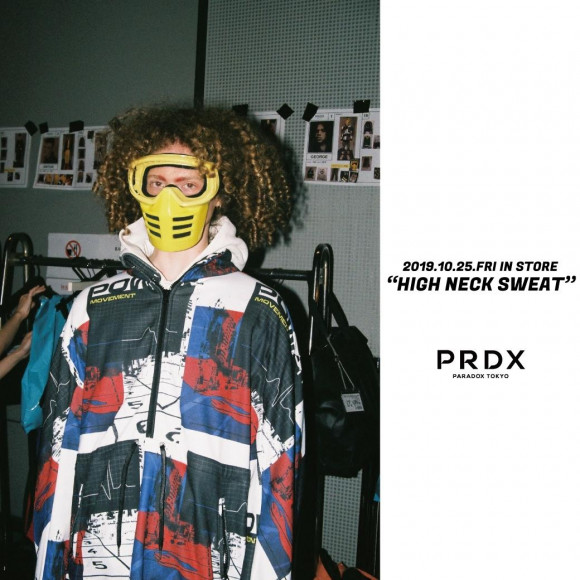 【NEW ARRIVAL】PRDX - HIGH NECK SWEAT