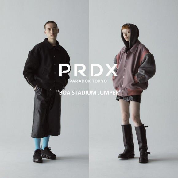 【NEW ARRIVAL】PRDX PARADOX TOKYO-BOA STADIUM JUMPER