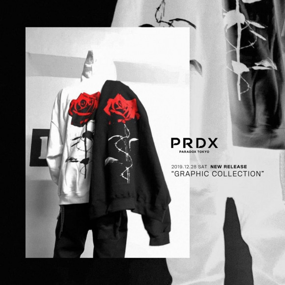 【NEW RELEASE!】 PRDX PARADOX TOKYO 『GRAPHIC COLLECTION』