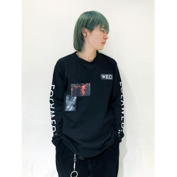 【PICK UP】Long Sleeve KISS-Tshirts