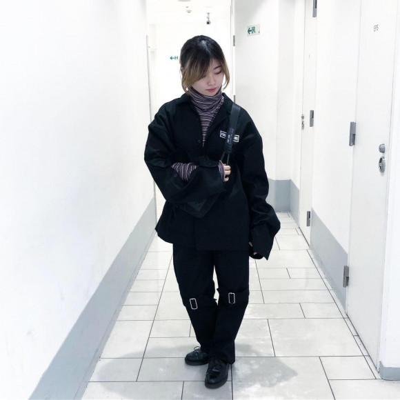 【NEW ARRIVAL】SHINICHI SUMINO - LOGO OPEN SLEEVE SHIRT