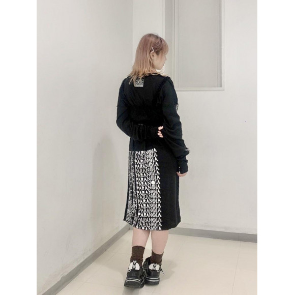 【PICK UP】SILLENT FROM ME  -R.I.P -Long Length Cutsew