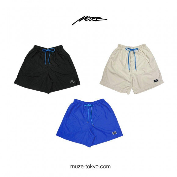 【NEW ARRIVAL】  MUZE - EMBROIDERY PATCH SHORTS