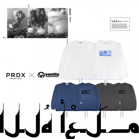 PRDX PARADOX TOKYO × Vanilla[2020.10.03.SAT IN STORE]