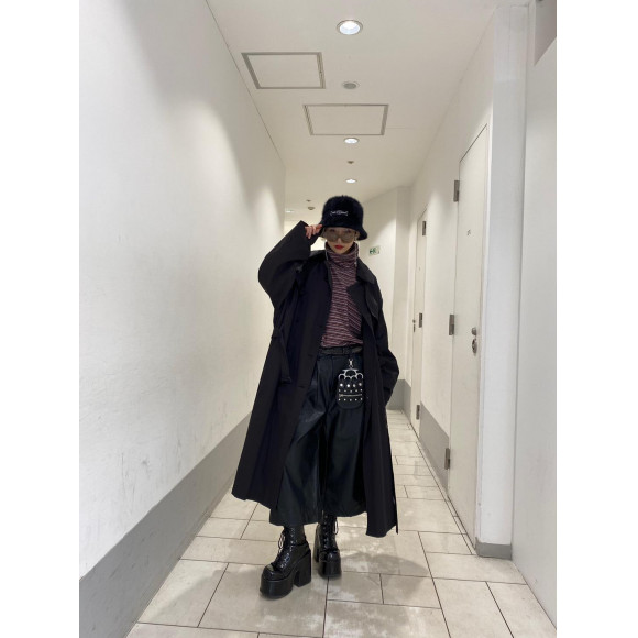 【NEW STYLING】ANOTHER YOUTH - LOGO TRENCH COAT