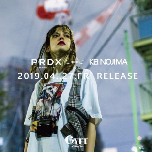 【2019.04.27.FRI COLLABORATION ITEM RELEASE START】  PARADOX × KEI NOJIMA