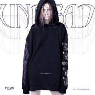 【NEW ARRIVAL】PARADOX - PULL PARKA (UNDEAD)