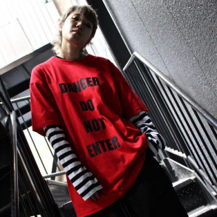 【PICK UP】SHINICHISUMINO - STRIPE LONG SLEEVE TEE(WHITE)