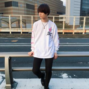 蛍光カラーのひよこが可愛いロンT♡【KILL CHICK L.S.TEE】