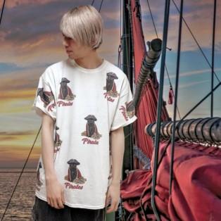 パイレーツシリーズより新作のTシャツが登場★【CAT PIRATES TEE】