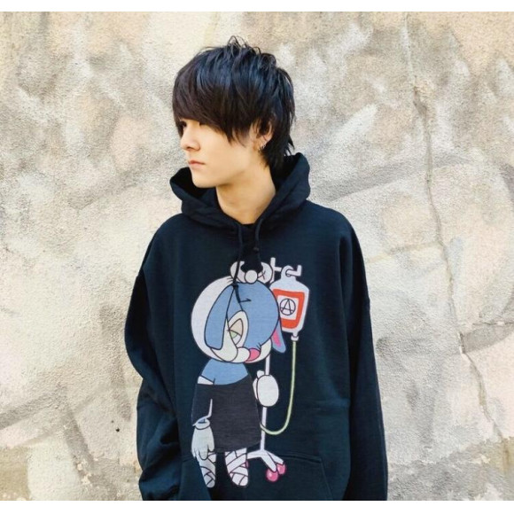ArutaSoup のイラスト【BRUTAL RABBIT HOODIE】