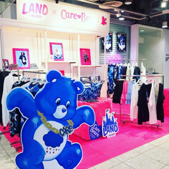 POP UPストア オープン!!【LAND by MILKBOY × Care Bears™️】