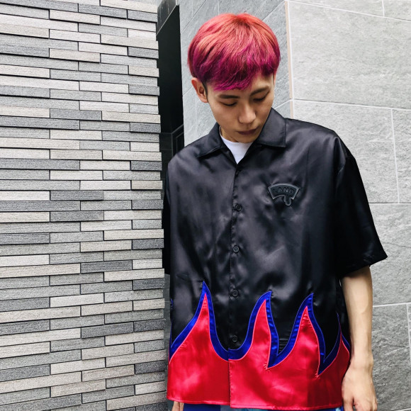 LAND限定の炎シャツ【FLAME SHIRTS】