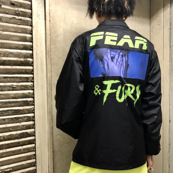 インパクト抜群のコーチジャケット【FEAR COACH JK】
