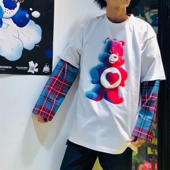 限定のケアベアTシャツ【TENDERHEART BEAR TEE】