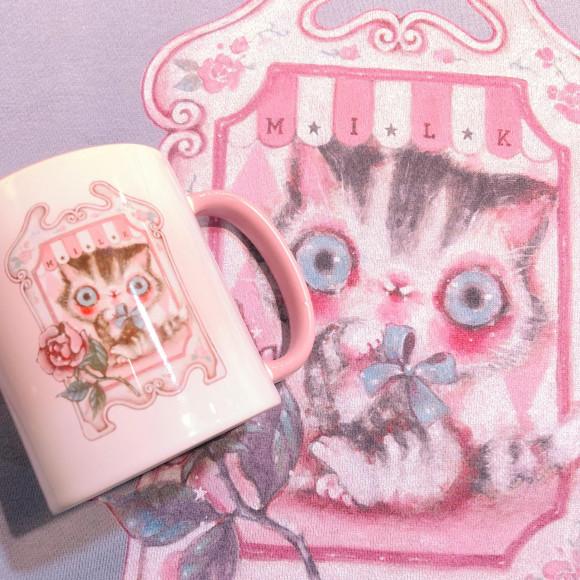 リラックスタイムをより優雅に♪【kittenマグカップ】