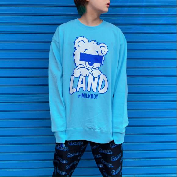 LAND限定新作【LAND BEAR スウェット】