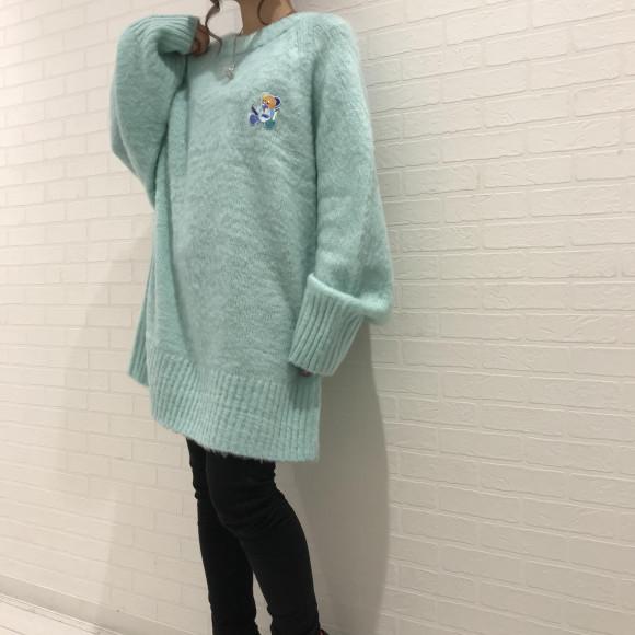 LAND限定の起毛セーターが登場☆【起毛セーター】