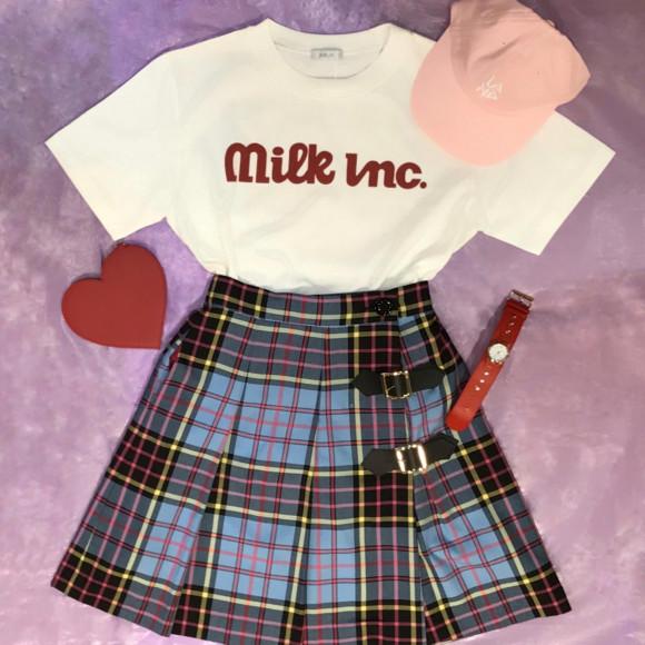 MILKの春物から新作Teeシャツをご紹介【cheerfull Tee】