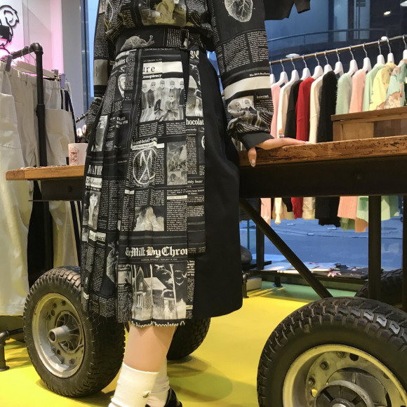 MILKから新作のゴシックスカートが登場【GOSSIPS スカート】