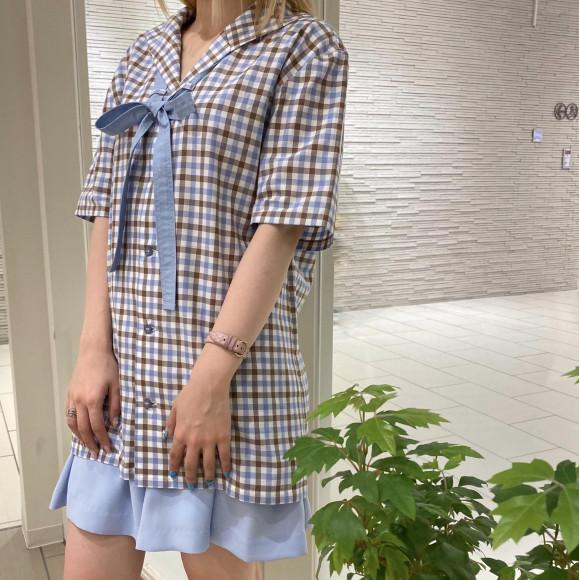 MILKBOY夏物新作よりセーラーシャツのご紹介【SAILOR RIBBON SHIRTS】
