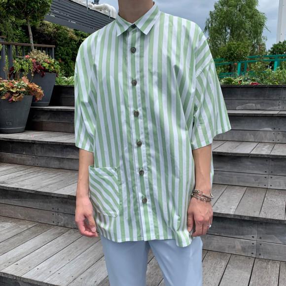 ビッグシルエットシャツ【BOX SHIRTS】