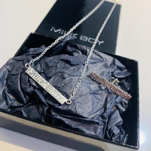 silver925を使用したネックレスとピアスが登場♪【プレートSILVER ピアス】【プレートSILVER ネックレス】
