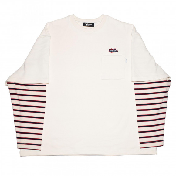 Fake layered L/S TEE!!