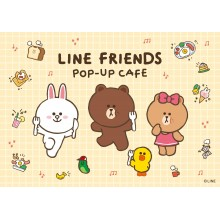 THE GUEST cafe&diner『LINE FRIENDS POP-UP CAFE』開催!