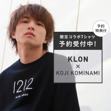 【本館5F KLON】KLON COLLABORATION TEE-Koji Kominami-