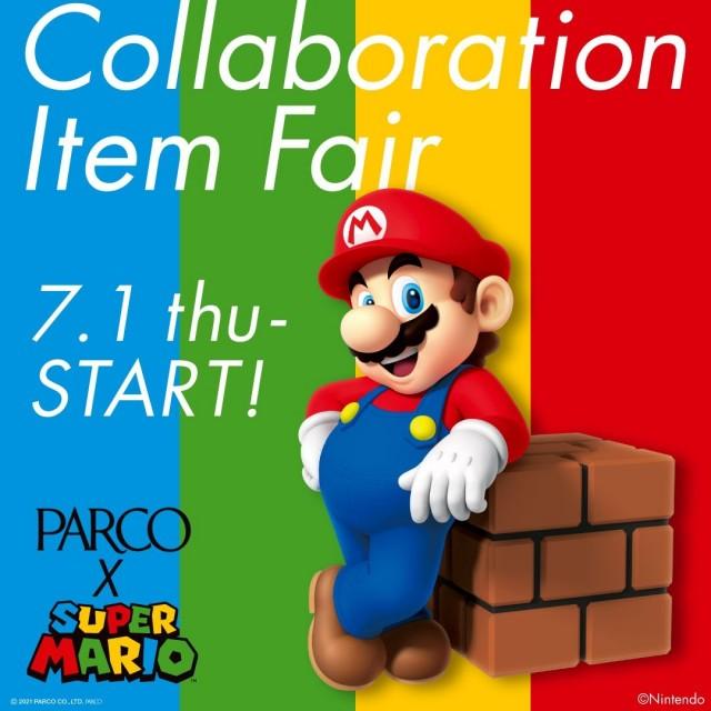 PARCO×SUPER MARIO Collaboration Item Fair