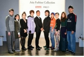 Group photograph with participating designers