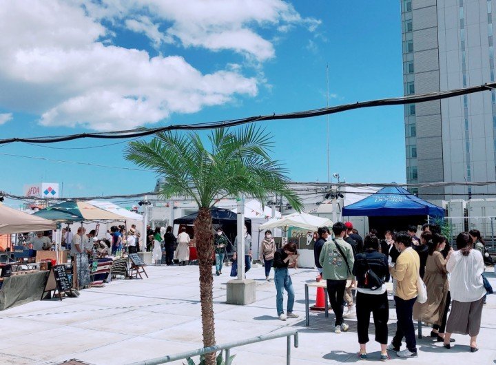 The rooftop event Entoichi MARKET