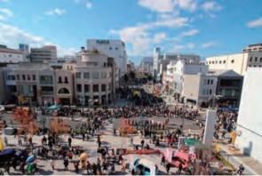 松本PARCOが参加した市民祭の様子