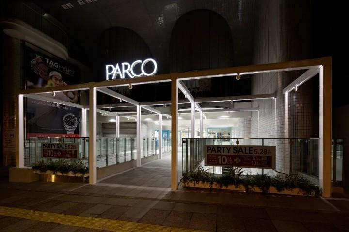 名古屋PARCO 東館久屋大通側エントランス