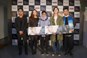 左から)リ・ヤンゴンさん(韓国)、アテナ・チャンさん(台湾)、星 拓真さん(日本)、榛葉 翼さん(日本)、ネルソン・ロンさん(香港)