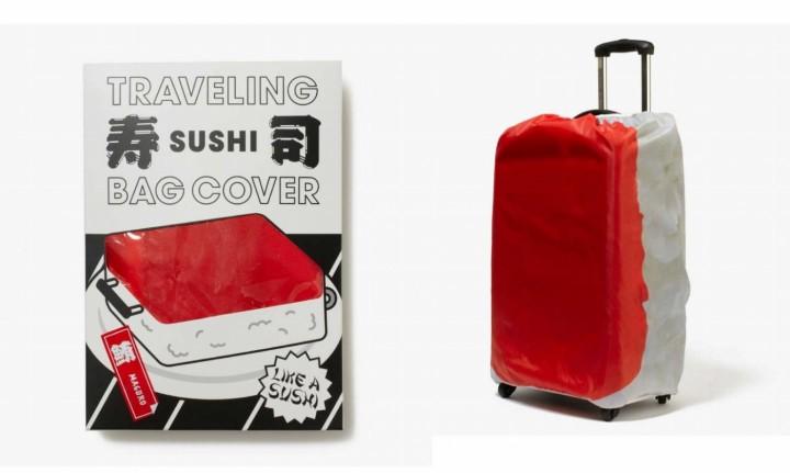 回転寿司スーツケースカバー「鮪」