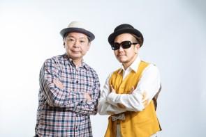 左:鈴木おさむ(脚本) 右:黄帝心仙人 ©️YOSUKE KAMIYAMA
