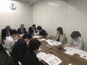 東京商工会議所 流通クラブでの記者発表
