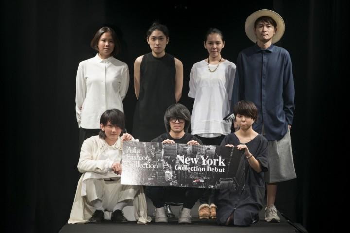 前列左から相馬慎平、星拓真、熊谷渓 後列左から、イム・オリョン(韓国)、カート・ホー(香港)、ジーチン・シン、イーホン・チャン(ともに台湾)