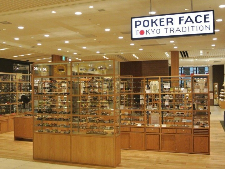 「POKER FACE TOKYO TRADITION」 日本橋コレド室町3 3階