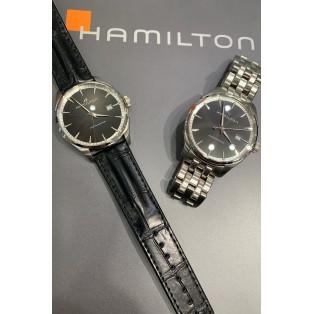 【HAMILTON】レザーかメタルか。あなたはどっち?