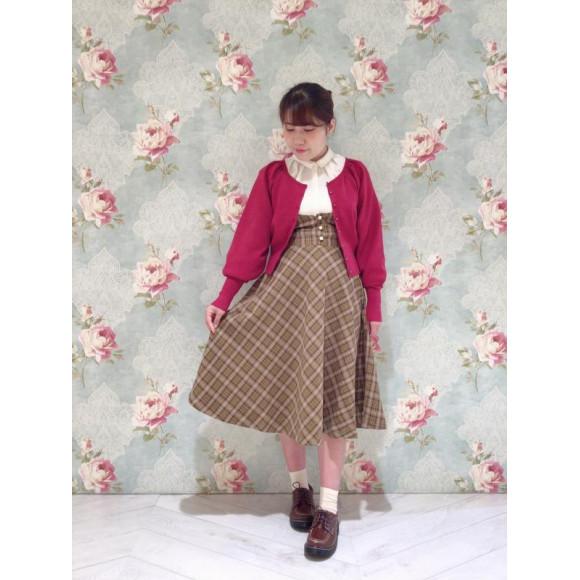 コルセット風なサスペンダースカート♡