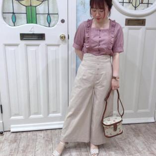 美シルエット+履き心地◎ワイドパンツ★