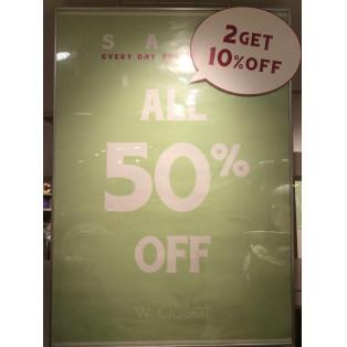全品50%OFF!2点で更に10%OFFです♡