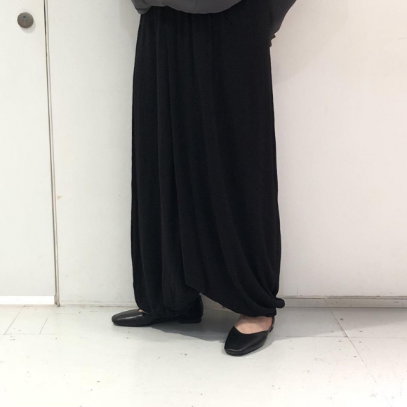 バルーンロングニットスカート