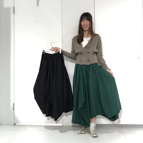 コットンバルーンボリュームスカート