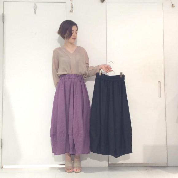 バルーンロングスカート